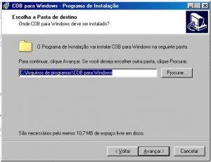 Instalar - Tela 04 - Diretório