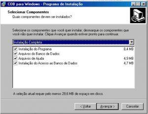 Instalar - Tela 05 - Instalação Personalizada