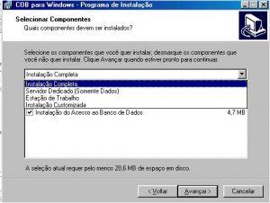 Instalar - Tela 06 - Instalação Personalizada