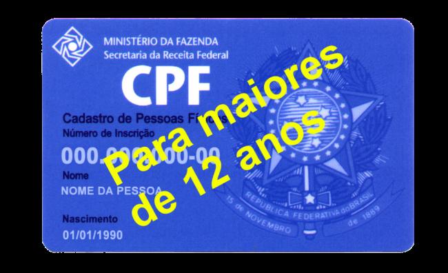 Nova Exigência de Receita – CPF para dependentes com mais de 8 anos