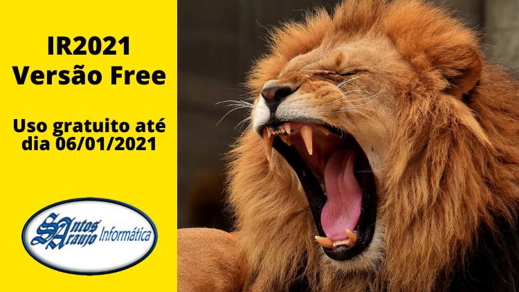 Lançamentos e Atualizações do IR: IR2021 Free está disponível para download